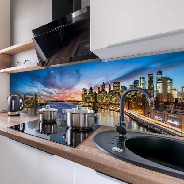 Kitchen Panel Skyline New York