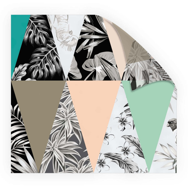 Look Triangle Jungle