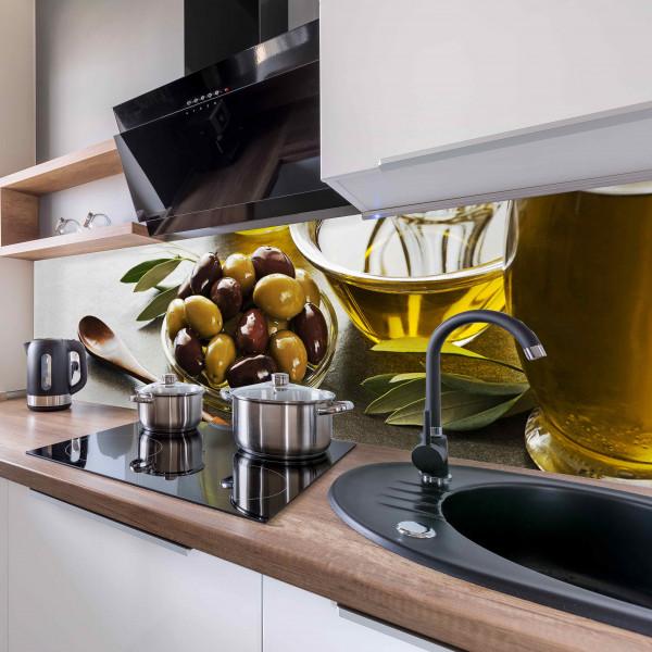 Kitchen Panel Olive