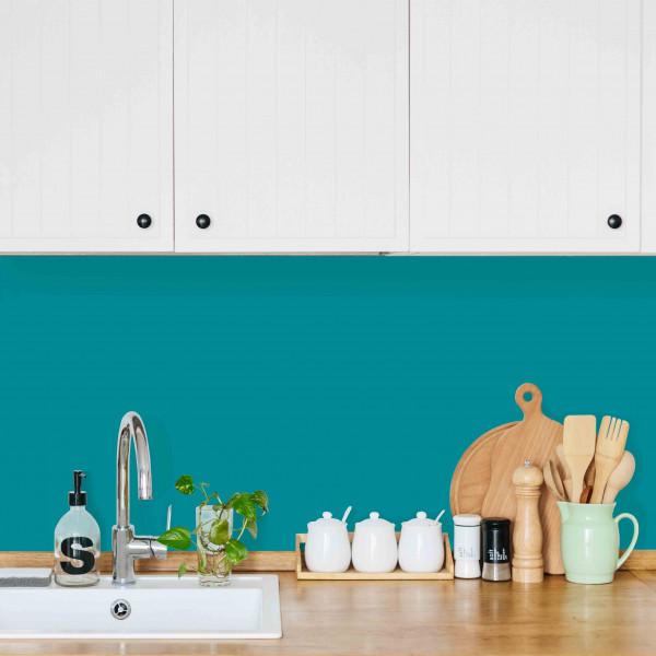 Kitchen Panel Türkisblau