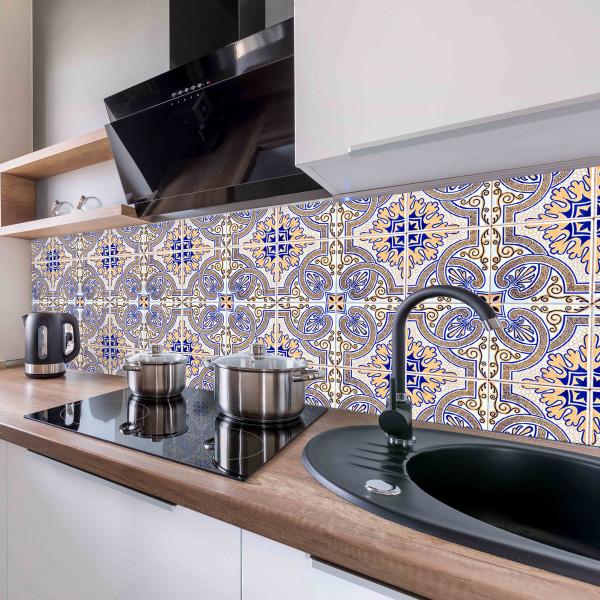 Kitchen Panel Portugiesische Fliese