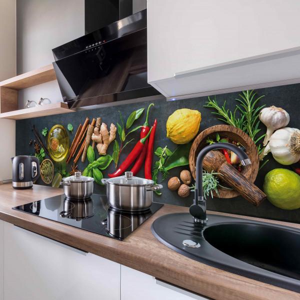 Kitchen Panel Fresh Spice