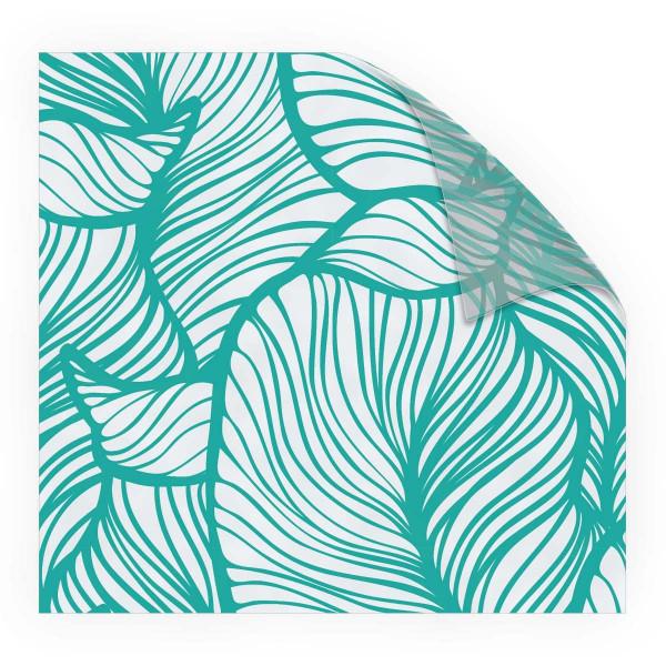 Look Leaves Turquoise