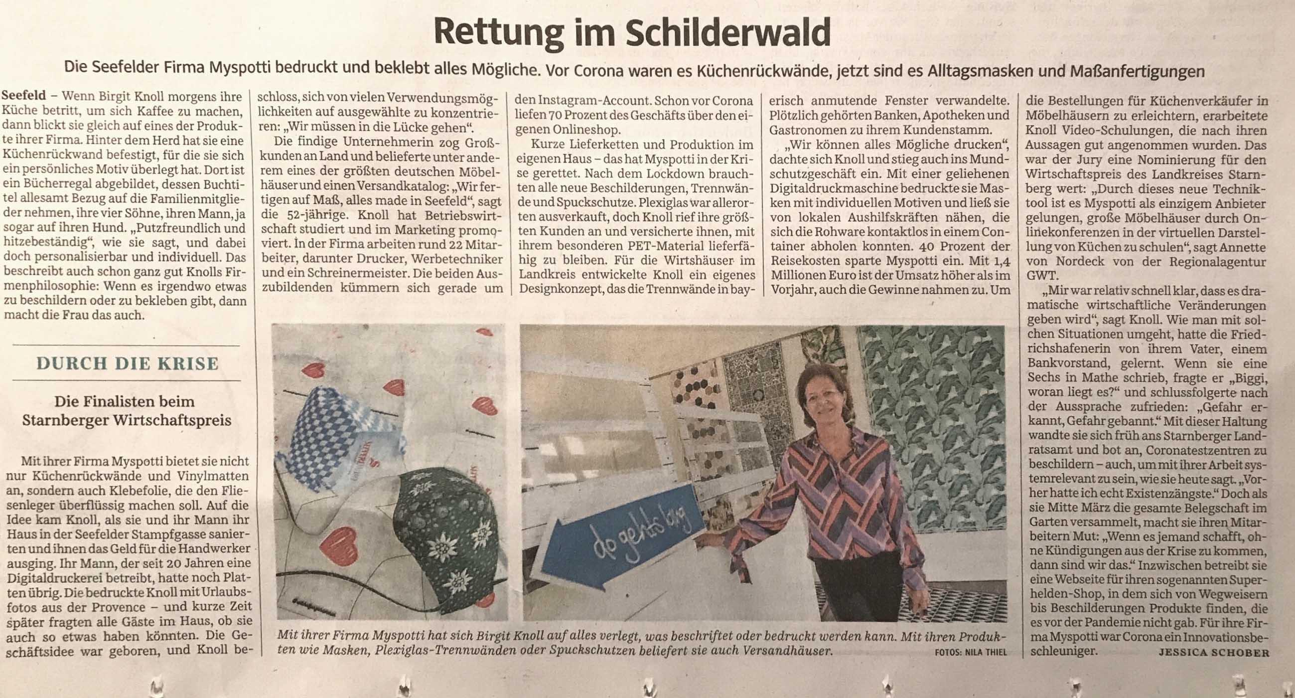 Presse-SueddeutscheZeitung-LandkeisStarnberg-15-10-2020
