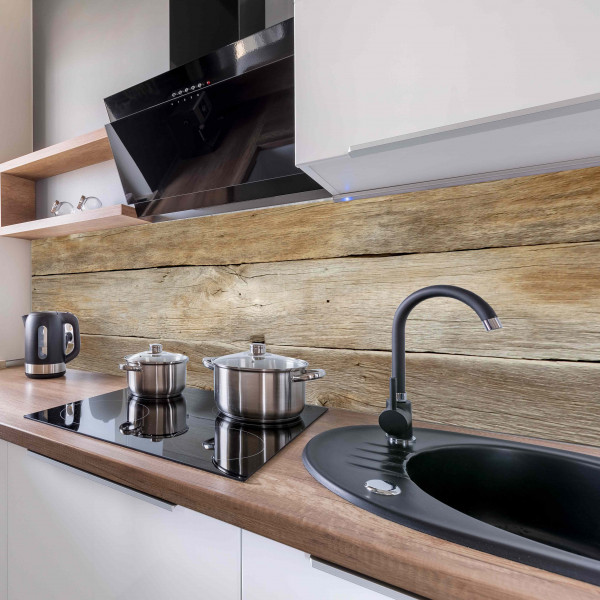 Kitchen Panel Holz