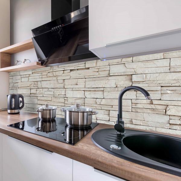 Kitchen Panel Rocky Wall