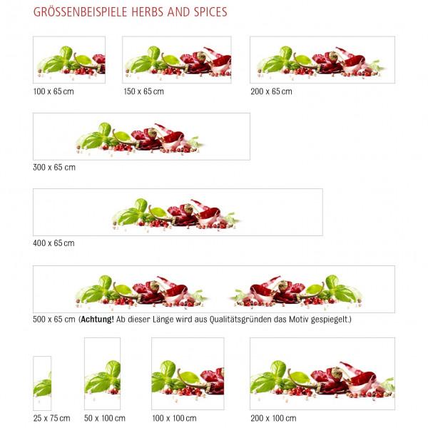 Kitchen Panel Herbs & Spice 3
