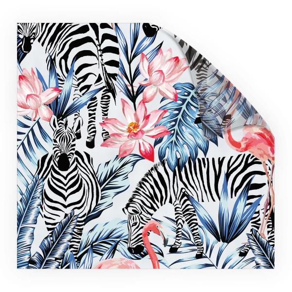 Look Tropical Zebras 1
