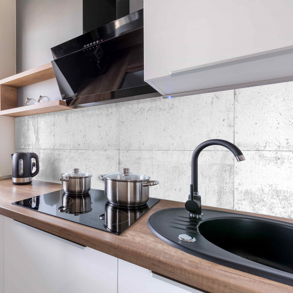 Kitchen Panel Betonwand
