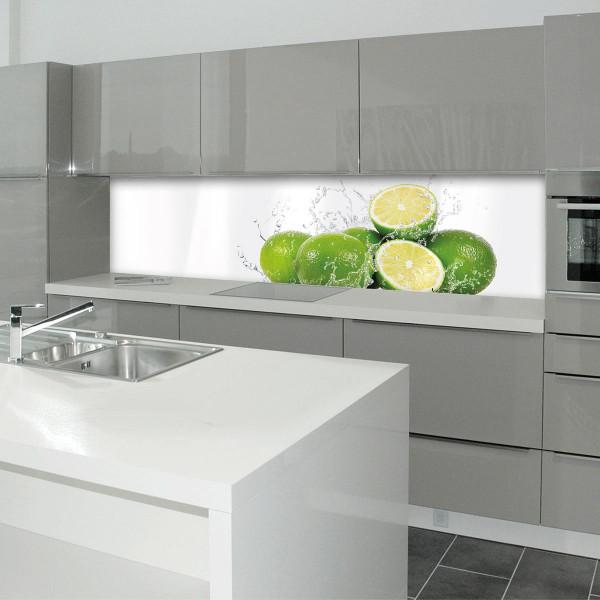 Küchenrückwand Kitchen Panel 3mm Aluminiumverbund Kitchen Panel max 16mm AluverbundAqua Limette