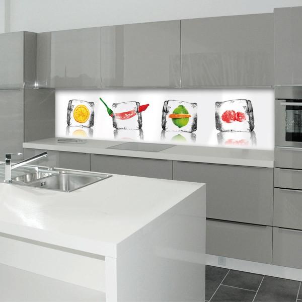 Kitchen Panel Eisfrüchte 2
