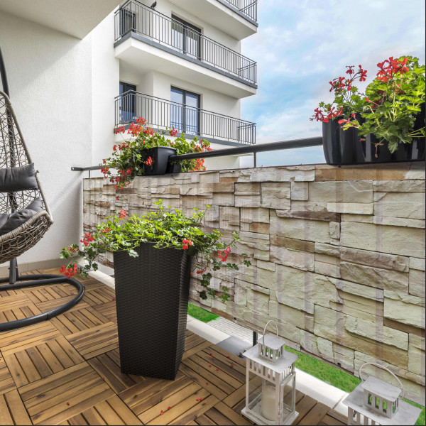 Balcony Rustical Bricks